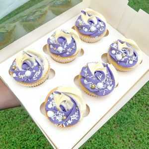 Custom Swirl Cupcakes