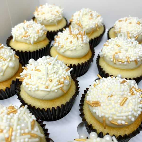 Mini Vanilla Cupcakes   brisbane baker   The Food Lovers Market