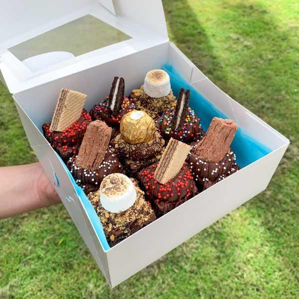 Celebratory Brownie Box