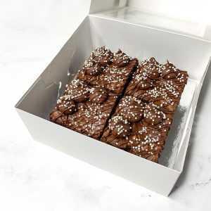 Jumbo Chocolate Brownies