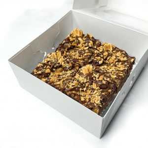 Jumbo Choc Peanut Butter Brownies