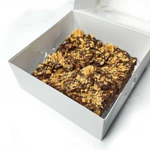 Jumbo Choc Peanut Butter Brownies | Brisbane Baker | The Food Lovers Market