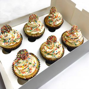 Funfetti Cupcakes | Brisbane Cupcakes | The Food Lovers Marketplace
