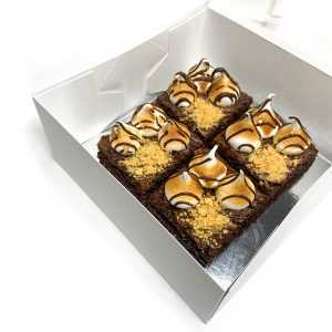Jumbo S'mores Brownies
