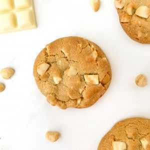 White Choc Macadamia Cookies | The Food Lovers Marketplace | Brisbane Cookies