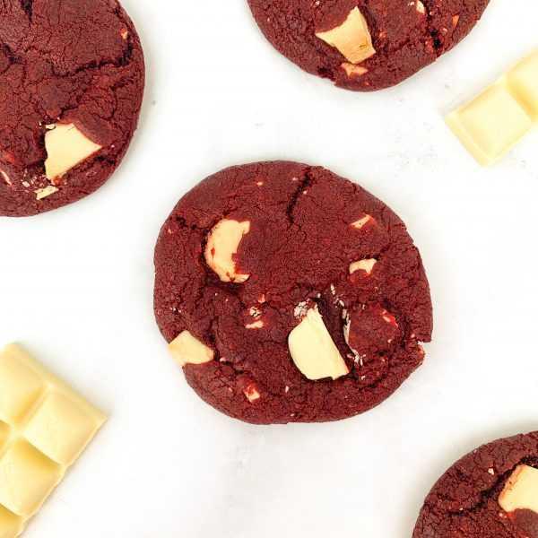 Red Velvet Cookies | Brisbane Baker | The Food Lovers Marketplace