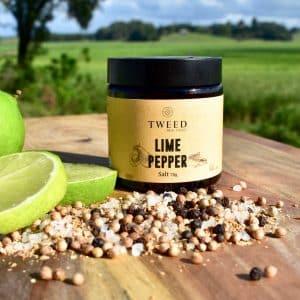 Lime Pepper Grinder Salt | The Food Lovers Marketplace
