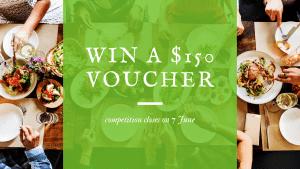 Win a $150 voucher