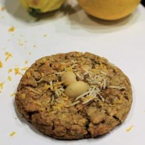Gluten Free Lemon Macadamia Cookies | Cookie Delivery Brisbane