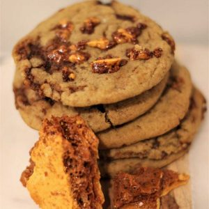 Honeycomb Crunch Cookies | The Food Lovers Marketplace
