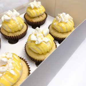 Lemon Meringue Cupcakes (Gluten Free)