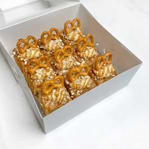 Salted Caramel Blondies