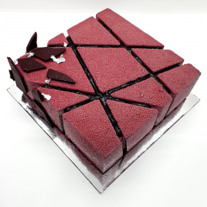 chocolate and cherry mousse cake | The Food Lovers Marketplace