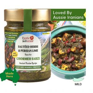 ghormeh Sabzi Recipe Base | Persian Food | The Food Lovers Marketplace