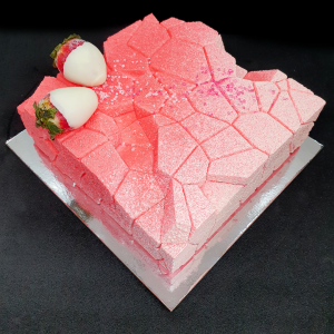 Strawberry 'n' Cream Mousse Cake | The Food Lovers Marketplace
