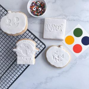 Halloween Paint It Yourself Cookies | The Food Lovers Marketplace